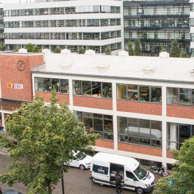 Blick auf die IWL in München