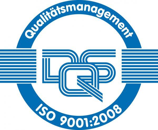 DQS Siegel ISO 9001:8000
