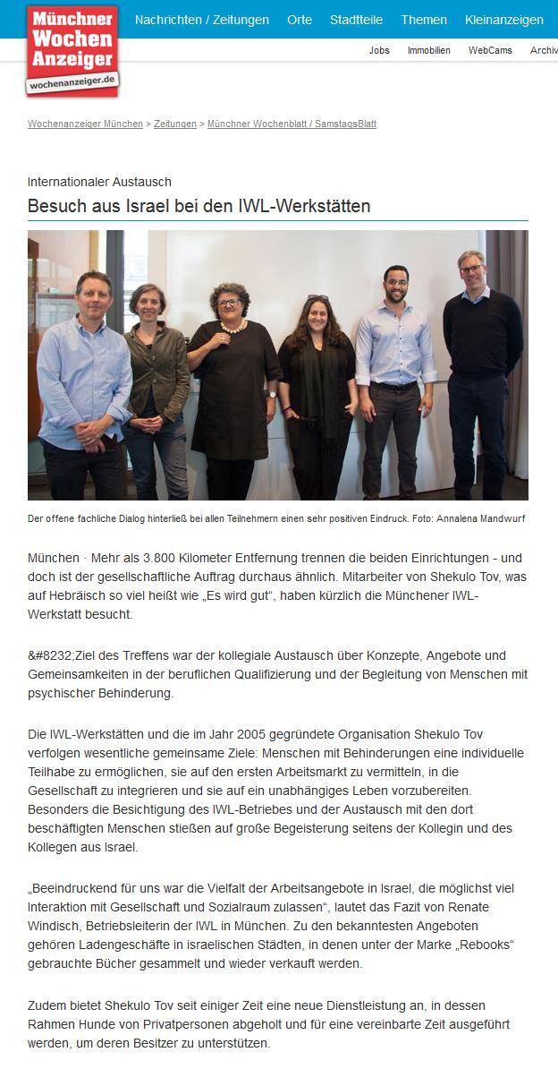 IWL Münchner Wochenanzeiger