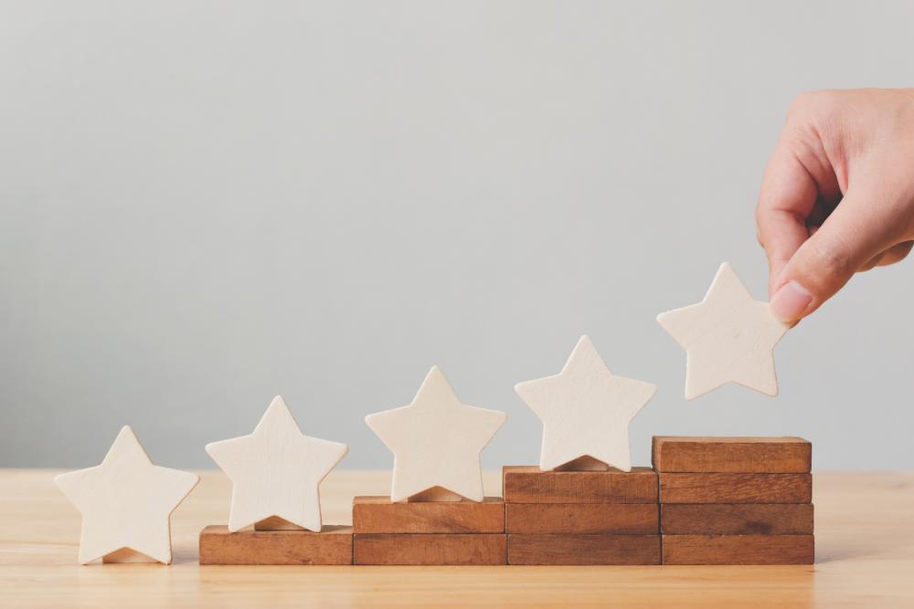 Kundenbewertungen IWL fünf Sterne
