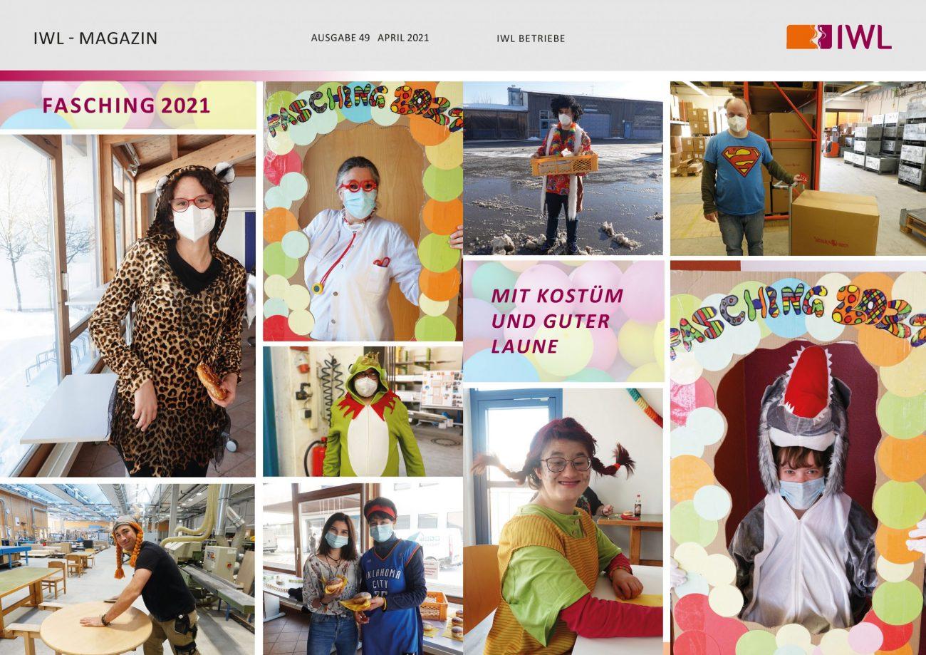 IWL-Magazin bunte Bildergalerie mit FaschingsbilderN